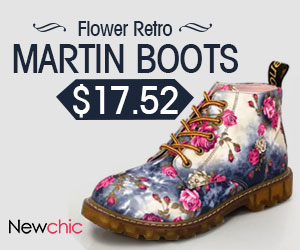 Retro Ankle Flat Martin Boots