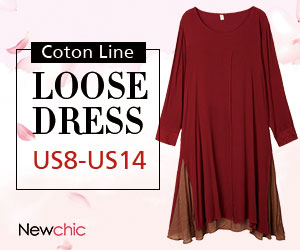 Linen Cotton Patchwork Long Sleeve Loose Dress SKU324033
