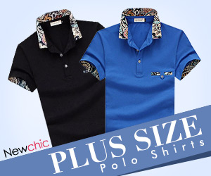 Plus Size Solid Color Short Sleeved Cotton Polo T-shirts SKU391559