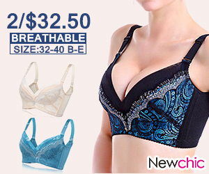 Sexy Breathable Low Cut Adjustable Bras