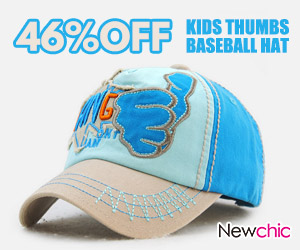 Fashion Kids Contrast Color Baseball Hat
