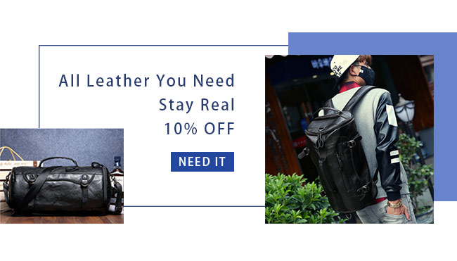 All Leather You Need, Stay Real 10% OFF
