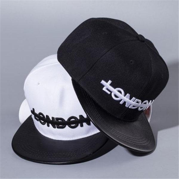 Мужчины Женщины Snapback Регулируемая бейсболке вышивки Hip Hop Hat