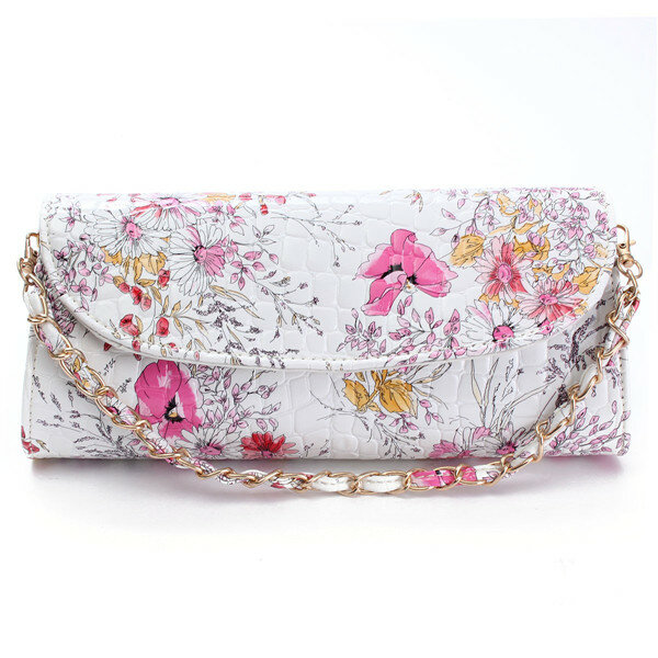 Women National Wind Print Crossbody Bag