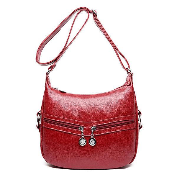 Женщины Стильный элегантный сумки на ремне повседневные молнии сумки