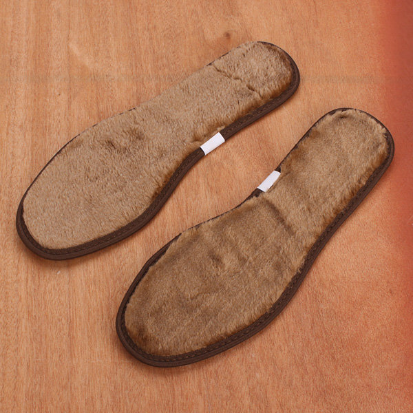 Women And Men Warm Plush Insole Shoes Pads