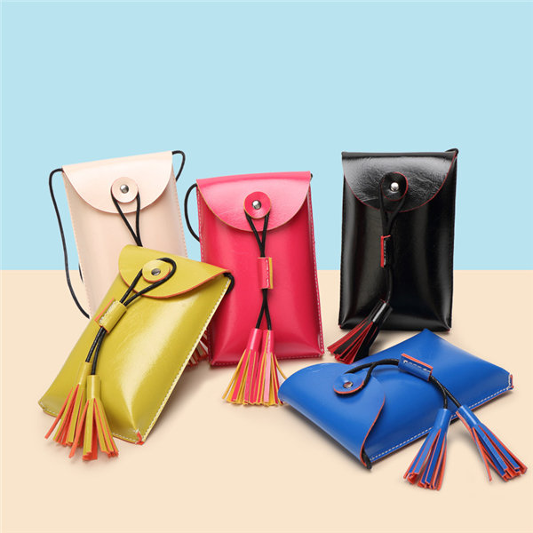 Women Cute Bags Candy Color Shoulder Bags Crossbody Bags Coin Bags Phone Bags