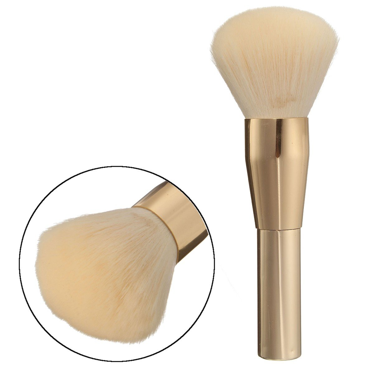 Soft Makeup Blush Brush Brushes Face Care Loose Powder Cosmetic Tool