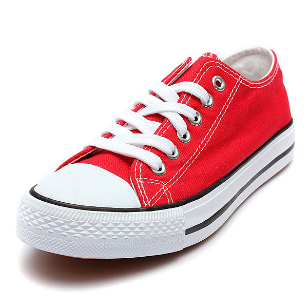 Canvas Casual Sneakers Flat Shoes