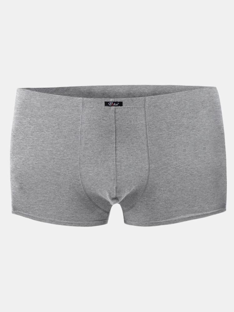 Big Plus Size Cotton Breathable Loose U Convex Pouch Underwear For Men