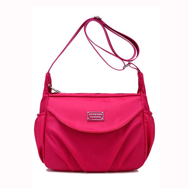 Women Casual Shoulder Bags Nylon Waterproof Portable Crossbody Bags