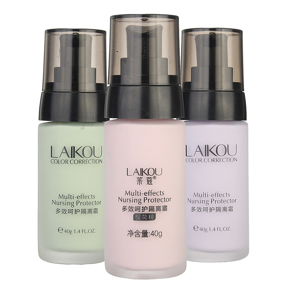 40g LAIKOU Waterproof Makeup Base Cosmetic BB Cream Brighten Skin Color