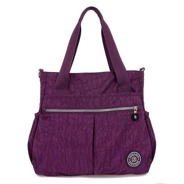 Женщины Нейлон Сумочка Crossbody Сумки Водонепроницаемые Торговые сумки на ремне