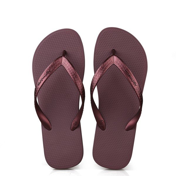 Мужская Pure Color клип ног с плоским пляжные тапочки