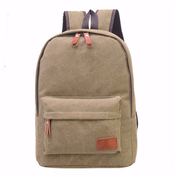Leisure Canvas Backpack Travel School Casual Shoulder Bags