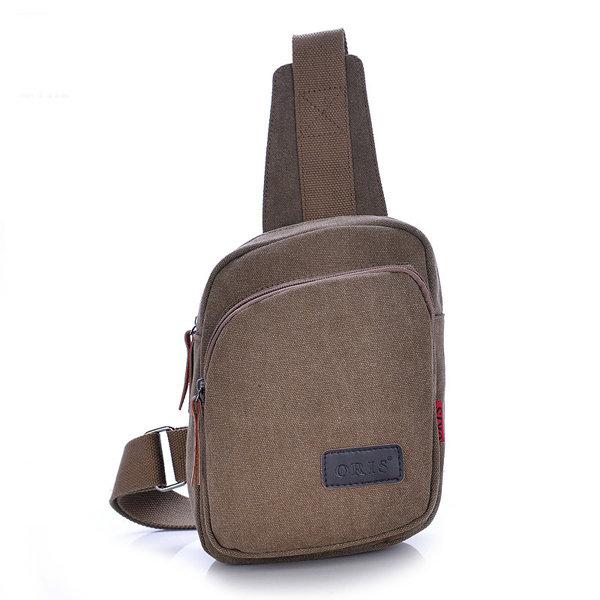 Men Retro Canvas Casual Travel Outdoor Portable Shoulder Bags Crossbody Bags