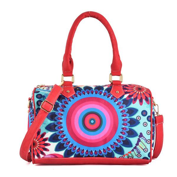 Женщины китайский национальный стиль сумки цветочным узором сумка плеча Crossbody сумки