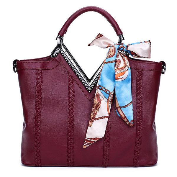 Женщины Элегантный Tote Weave сумка Стильный ретро Сумка Crossbody сумки