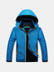 Outdoor Casual Climbing Waterproof Anti-Wind Breathable Hooded Sport Jacket For Men