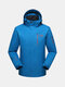 6XL Plus Size Outdoor Climbing Water Repellent Anti-Wind Breathable Jacket for Men