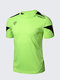Men's Soft Broadcloth Quick Dry Breathable Running Short Sleeve T-Shirts