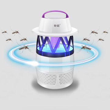 Mosquito Killer Lamp LED Photocatalyst Mute Fan Night Light Insect Repellent Travel Camp SKU669900