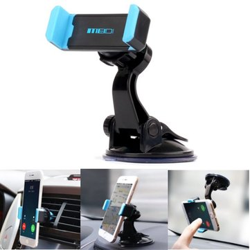 MEIDI Car Multifunction Phone Holder Air Vent Windshield Holder Stand Adjustable Support 6.0 inch
