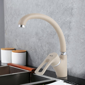 Multicolor Spray Painting Kitchen Faucet Cold And Hot Water Mixer Tap Single Handle 360 Rotation