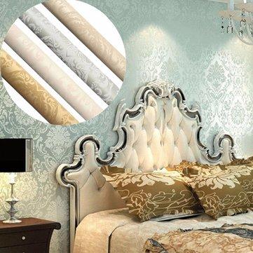 3d Wallpaper Bedroom Living Modern Wall Home Background Stripe Mural Roll