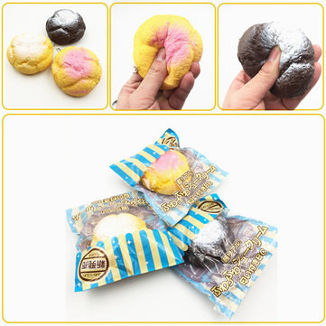 Squishy Cream Puff Icing Frosting Original Packaging Collection Decor Gift Toy