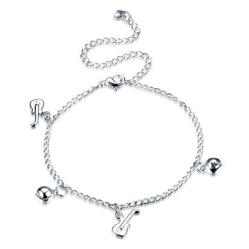 Yueyin Guitar Bell Charm Anklet