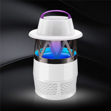 Electric Mosquito Killer UV LED Fly Zapper Silent Indoor Night Lamps USB Powered SKU651243