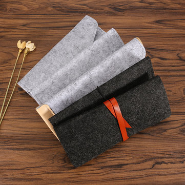Creative Fashion Multifunction Wool Pencil Pen Case Stationery Pouch Cosmetic Makeup Large Bag SKU624769