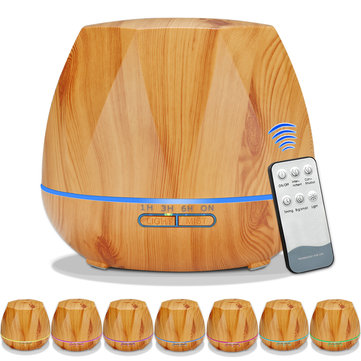 Wood Grain Ultrasonic Air Humidifier SKU860012