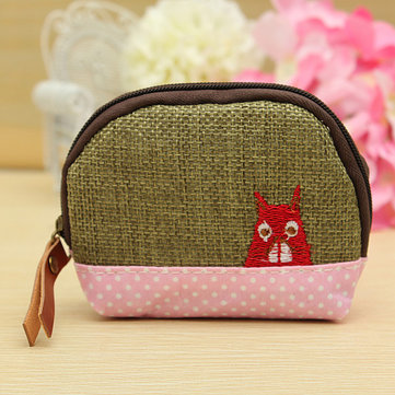 Children Girl Animal Coin Small Bag Card Purse Key Cash Wallet Holder Pouch