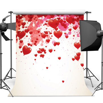 240x240cm Heart Love Photography Background Home Decoration Background Painting
