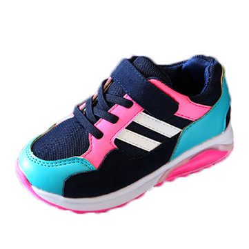 Kids Breathable Sneakers Outdoor Boys Running Shoes