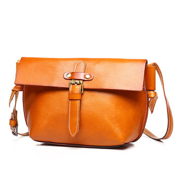 Women Genuine Leather Vintage Shoulder Bag Crossbody Bags