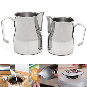 Frothing Coffee Pitcher Milk Coffee Milk Jug SKU485067
