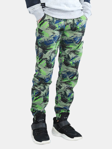 Mens Camouflage Casual Jogging Sport Pants SKU767314