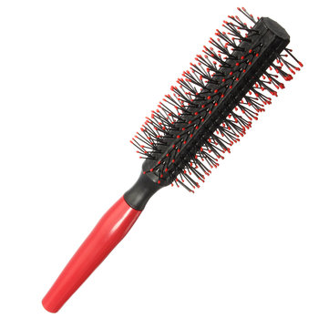 Hairdressing Comb Roller Round Brush Hair Curly Straight Combs SKU279855