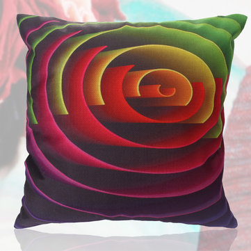 45x45cm Gorgeous Color Cotton Pillow Case Sofa Waist Throw Cushion Cover Home Decor