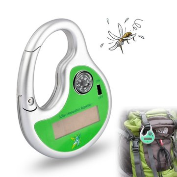 Portable Solar Powered Sonic Mosquito Repeller Pest Reject With Compass Mosquito Killer SKU699762
