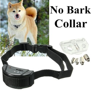 Anti Bark No Barking Pet Dog Training Collar  Electronic  Dog Training Collars