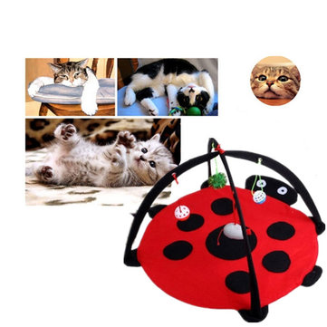 Pet Cat Bed Toys Mobile Activity Playing Bed Pad Blanket House Pet Furniture Tent Toys SKU453443