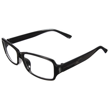 Men Women Retro Clear Shell Lens Plain Wayfarer Nerd Geek Glasses Eyewear SKU118917