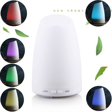 Creative Colour Changing Night Light Air Freshener Aroma Diffuser Humidifier