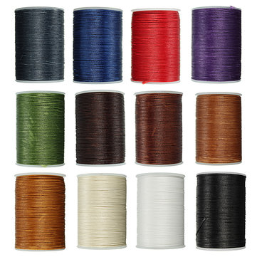 78m Waxed Thread Polyester Cord Sewing Stitching Leather Craft Bracelet