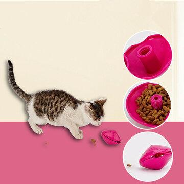 Yani Cat Toys Interactive Dispenser Pet Treat Play Fun Toys Feeders Pet Supplies SKU684930