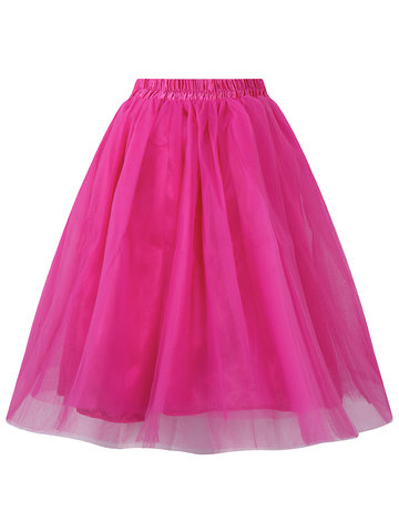Brief Tulle Women Ball Gown Puff Skirts thumbnail